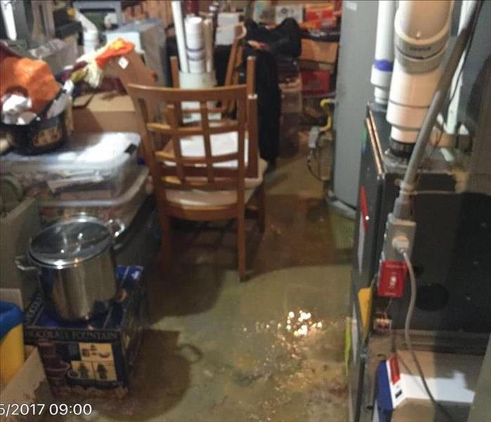 Water Damage in Montclair, NJ Before