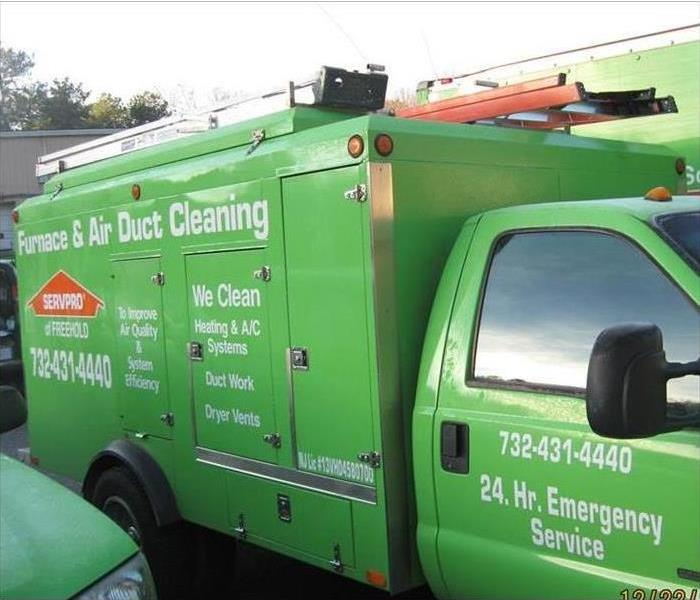 Our Duct Cleaning Truck